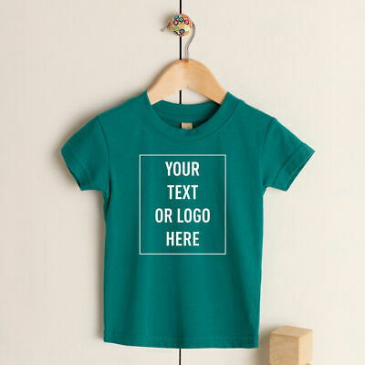 Custom Printed Baby Toddler T-Shirt Personalised Birthday Photo Text Tee Top