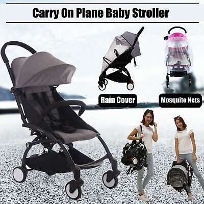 2019 Compact Lightweight Baby Stroller Pram Easy Folding Travel Carry Pushchair