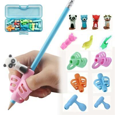 Child Pencil Holder Pen Writing Aid Grip Posture Correction Device Tool Set