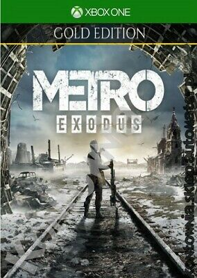 Metro Exodus GOLD EDITION (XBOX ONE ACCOUNT) / 5mins on email