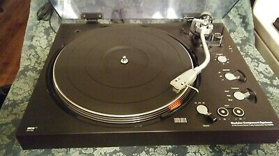 TECHNICS MCS 6700 DIRECT DRIVE TURNTABLE w SHURE CART - EXCELLENT CONDITION