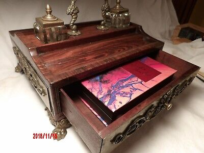 Victorian Rosewood Traveling Desk c. 1825