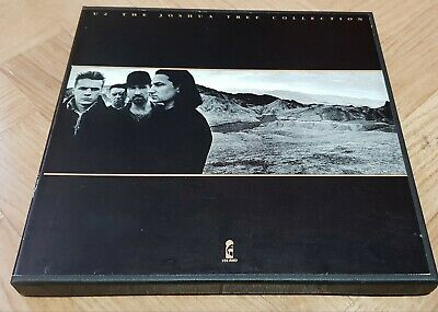 """U2 The Joshua Tree Collection Very Rare 1987 UK promotional-only 5 x 7"""" box set"""