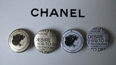 Chanel Lot 4 Broches Badges Gabrielle
