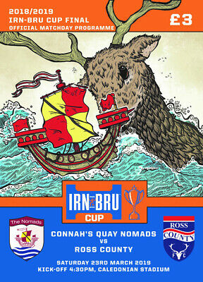 Ross County v Connah's Quay Nomads - Irn-Bru Cup Final - 23 March 2019 - MINT