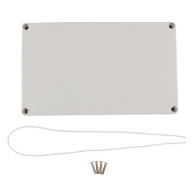 Plastic IP65 Electrical Junction Box Case with Mount Screws 200x120x75mm