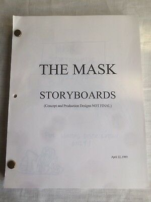 THE MASK Storyboards