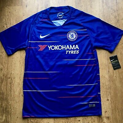 replica chelsea shirt 2018/19 hazard 10 M medium men's adult nike home kit 18/19