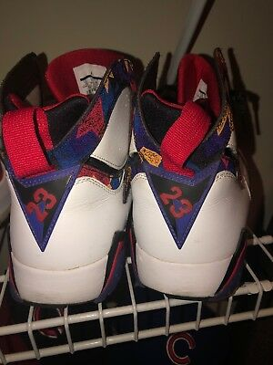 "6c65b6ac2abe74 Air Jordan 7 Nothing But Net ""Ugly Sweater"" Retro Size 12 Mens - 304775"