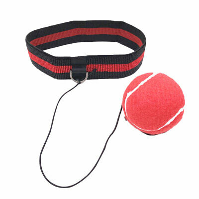 Sports Fight Ball Headband for Reflex Training Boxing Punch Exercise Tool US