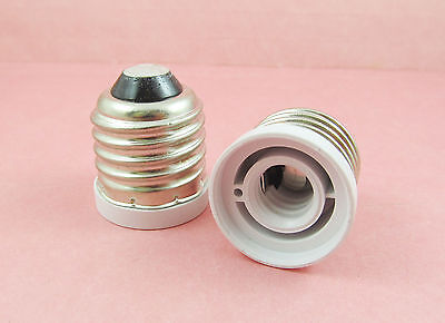 E27 to E12 Socket Base LED Halogen CFL Light Bulb Lamp Adapter Converter Holder