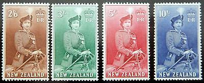 New Zealand Kat. 343-345 MNH ** 1953/7 Kat. 155 Euro