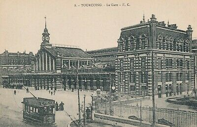 CPA - France - (59) Nord - Tourcoing - La Gare