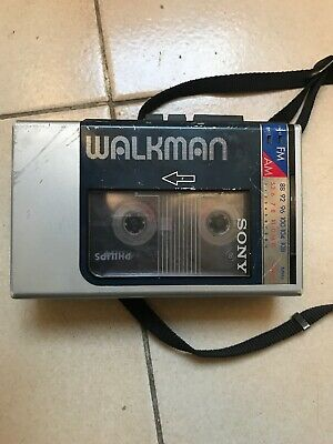 Sony wm-f9 walkman musicassetta vintage portable cassette player music