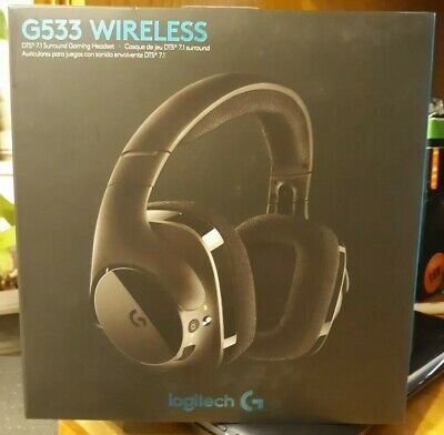 LOGITECH G533 WIRELESS Gaming Headset DTS 7 1 Surround Sound