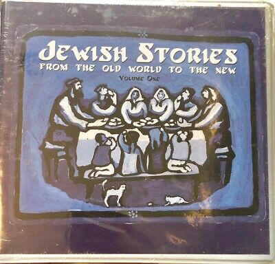 Jewish Stories: From Old World to the New Vol 1 - Narrated by Leonard Nimoy-NEW!