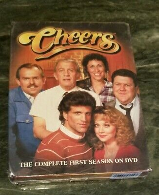 Cheers: The Complete First 1st 1 Season 4 Discs DVD Region 1 - NEW Sealed