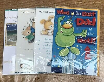 33 Fathers Day Cards Large Format Wholesale Joblot Greeting **new** Dad Grandad