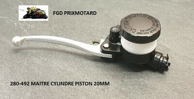 Maitre Cylindre Frein Moto 2 Disques 280-492 Ducati