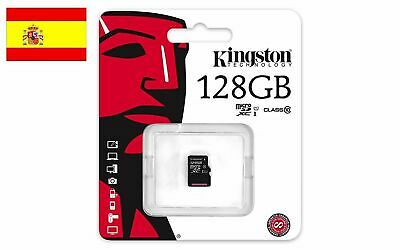 Tarjeta De Memoria Kingston Micro Sd 128Gb Clase 10