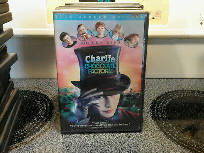 DVD  CHARLIE and the CHOCOLATE FACTORY--JOHNNY DEPP