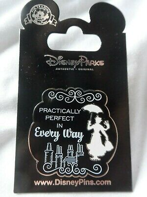 Disney Parks New Mary Poppins[Practically Perfect In Every Way]  Pin