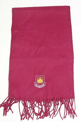WEST HAM UNITED F.C Official Mens Large & Wide Scarf
