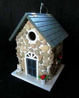 Outstanding Stone Cottage Bird House Brand New Home Interior And Landscaping Ferensignezvosmurscom