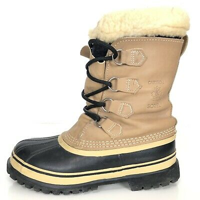 SOREL KAUFMAN CARIBOU Womens Boots Sz 8 Winter Snow
