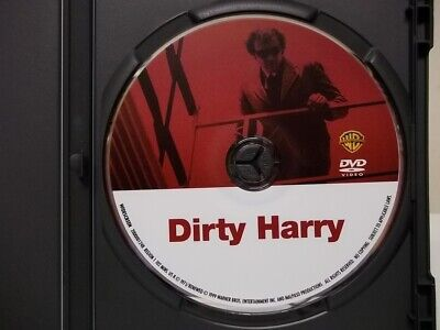 """Dirty Harry, DVD, """"DISC ONLY"""", Widescreen, Free shipping, Clint Eastwood"""