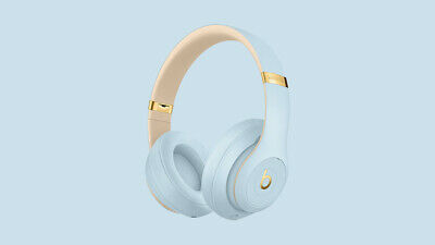 New Seal Beats by Dr. Dre Studio3 Wireless Over the Ear Headphones-Crystal Blue