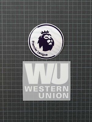 Premier League Patches/Badges 2018-2019 & WESTERN UNION Liverpool Home Shirt