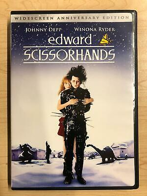 Edward Scissorhands (DVD, Widescreen, 1990) - F0224