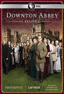 Downton Abbey: Season 2 (DVD, 2014, 3-Disc Set, Canadian)