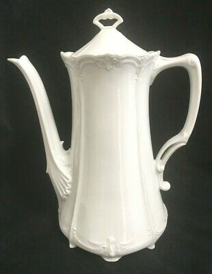 Tirschenreuth Germany Baronesse White Porcelain Coffee Pot