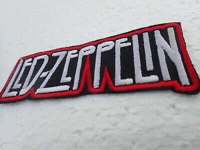 Embroidered Patch,  Biker Patch Iron On, Music Patch Led Zeppelin