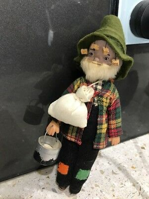 Old Hard Plastic Bushman Doll
