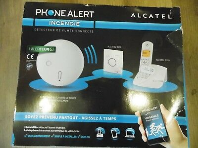 Phone Alert Incendie  Alcatel   Neuf      Detection Fumees A Distance