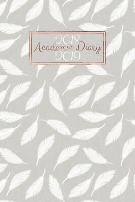 2018 - 2019 Academic Diary: Mid Year Planner - 12 Months - A5 Student ...