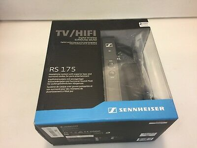 Sennheiser RS175 TV/HiFi Digital Wireless Headphone System Black, NOB