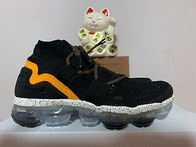 b2d6a3674a5 Nike Air Vapormax FK Utility Black Orange Peel New Men s 6  AH6834-008
