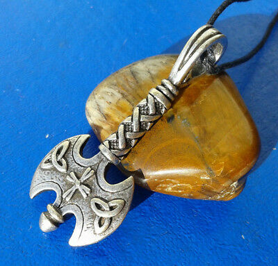 Vikings and Celtic Amulet  Labrix Battle Ax. Reproductions