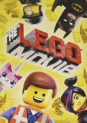 The Lego Movie (DVD, 2014, Widescreen) NEW