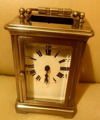Working Vintage French Carriage Clock