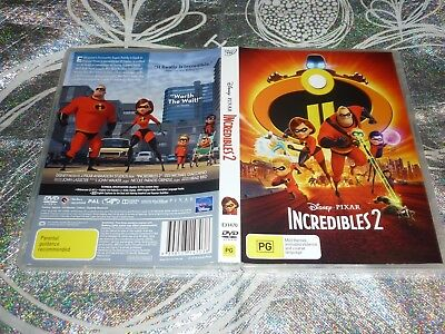 Disney Pixar - Incredibles 2 (Dvd, Pg) (141787 A)