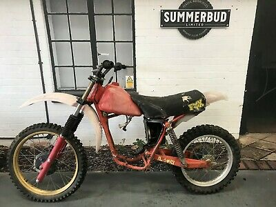 Honda CR125 1980 Rolling Chassis Restoration Project Barn Find Spares or Repair