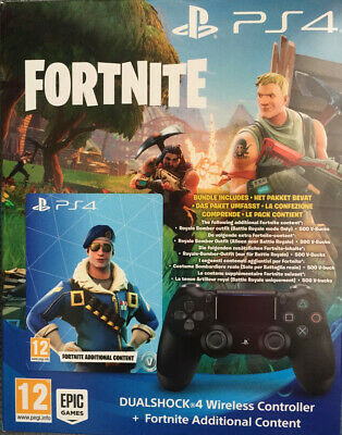 PS4 Sony DualShock 4 Wireless Controller  Fortnite Bundle Royal Bomber NEU & OVP