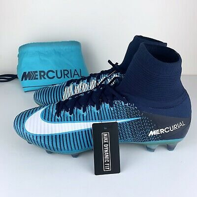 24bc02d09683 Nike Mercurial Superfly V AG-Pro Soccer Cleats Ice Pack Blue 831955-415 Size