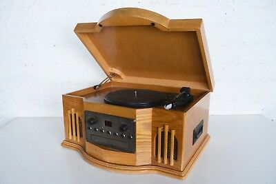 Philco Turntable Record Player Cassette & CD Player 841.205 Music System