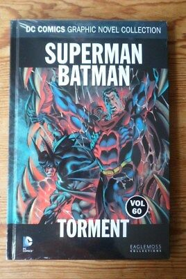 dc comics graphic novel collection VOL 60 SUPERMAN BATMAN  TORMENT